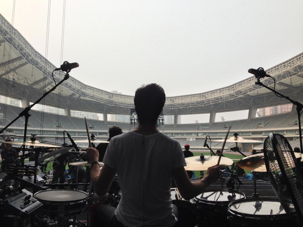 Leehom Wang soundcheck
