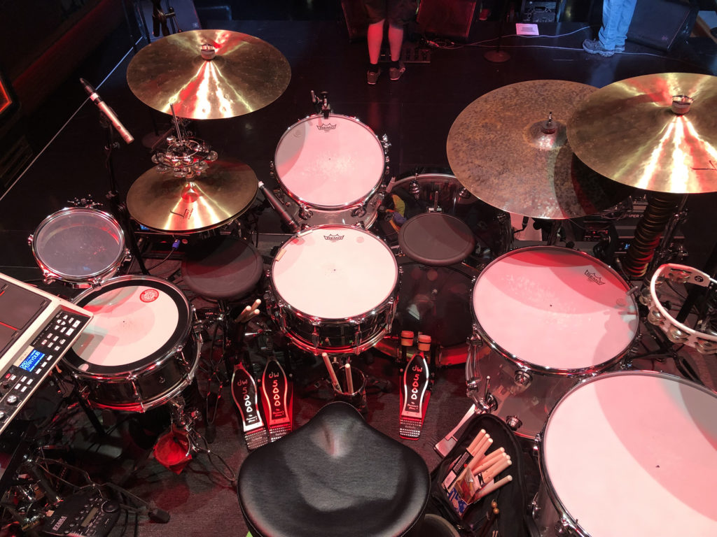 Brendan Buckley's Drum Setup - Perry Farrell 2019